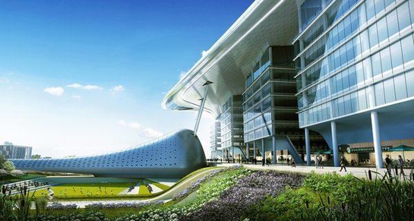 В Азия Aerospace будут представлены научно-исследовательские объекты, офисные пакеты, академические городки, конференц-центр и жилые районы