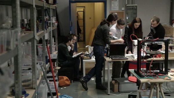 3D сборочная линия, лабораторный цех разработчиков