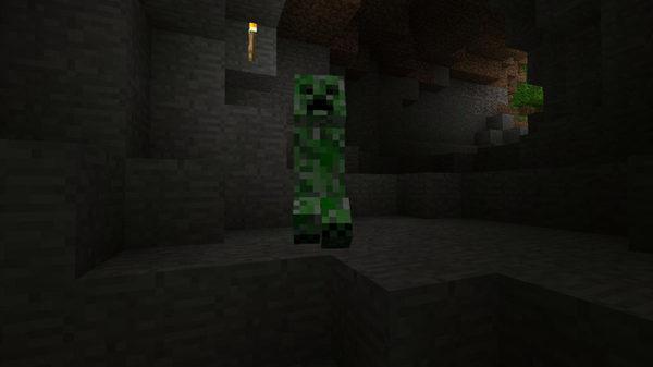 Крипер-один из монстров мира minecraft