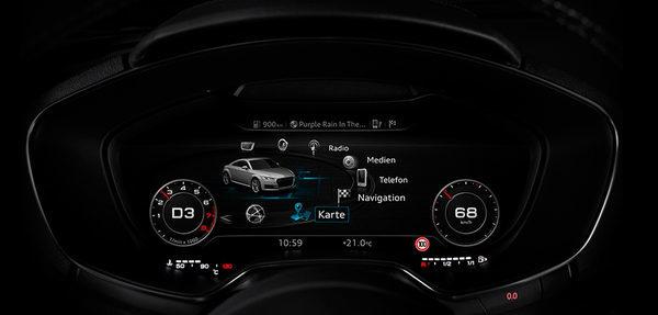 Audi виртуальный кокпит
