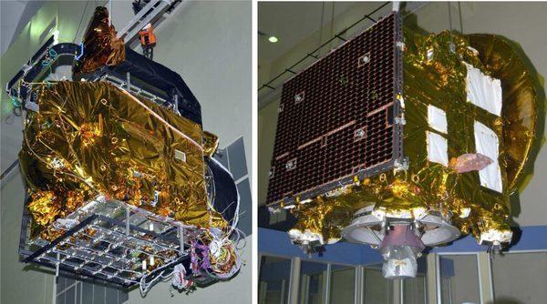 Космический спутник Mangalyaan для миссии на Марса