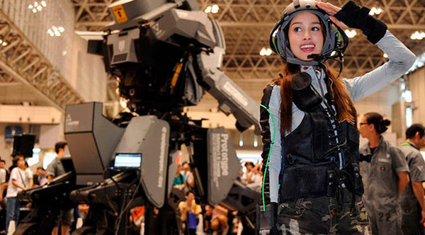KURATAS первый гиганский военный робот