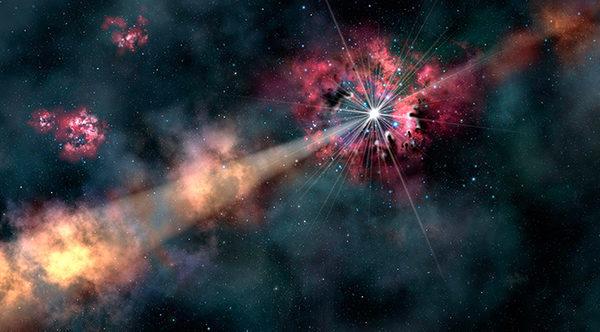 Гамма-всплески в космосе