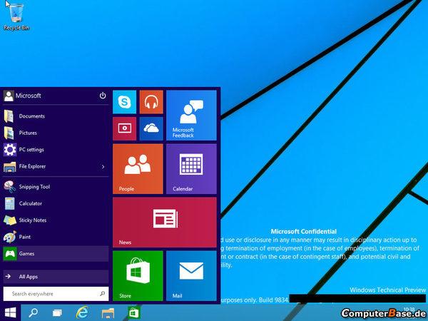 Windows 9  1