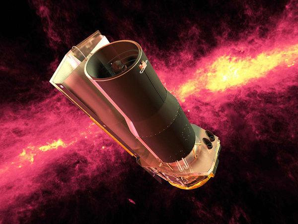 Спитцер (космический телескоп) космический аппарат научного назначения, предназначенный для наблюдения космоса в инфракрасном диапазоне.