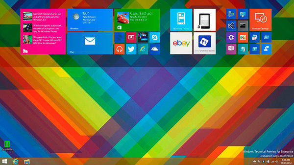 Windows 10, Плитка от CyclingGuyNOLA