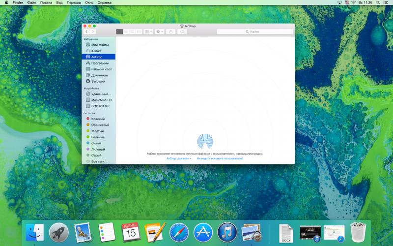 Новая операционная система OS X Yosemite от Apple