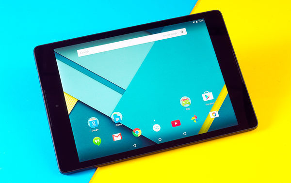 Nexus 9 на Android 5,0 Lollipop