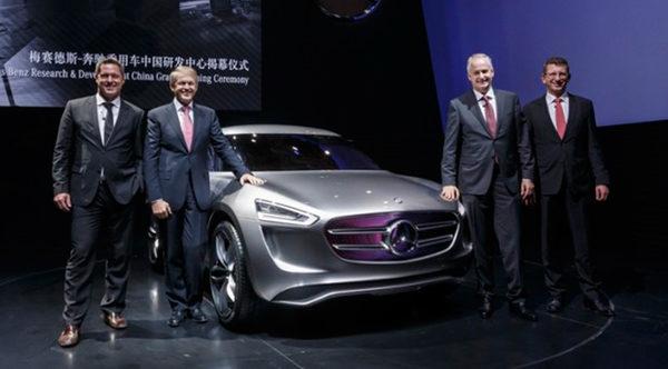 Mercedes Benz концепт