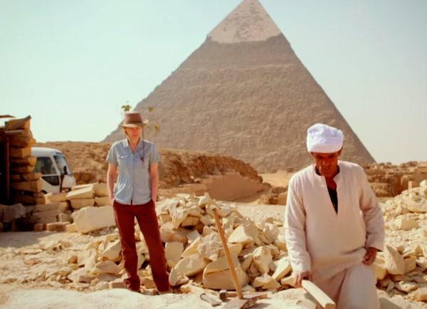 История создания пирамида Гизы