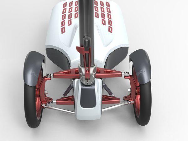 Складной электрический скутер_2