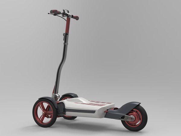 Складной электрический скутер_1