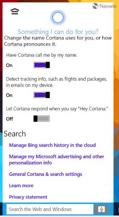 Как включить Кортану windows 10