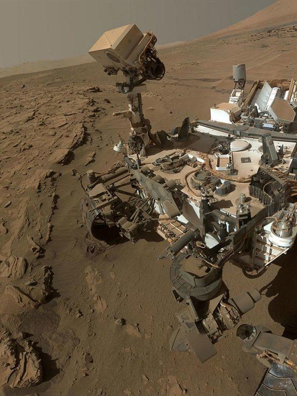 Последние фото с марсохода curiosity