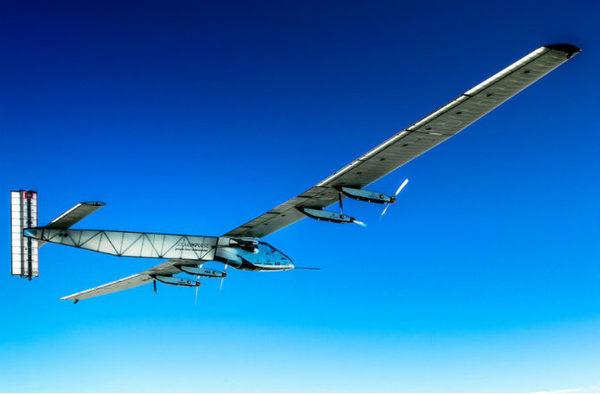 Электро самолет SOLAR IMPULSE