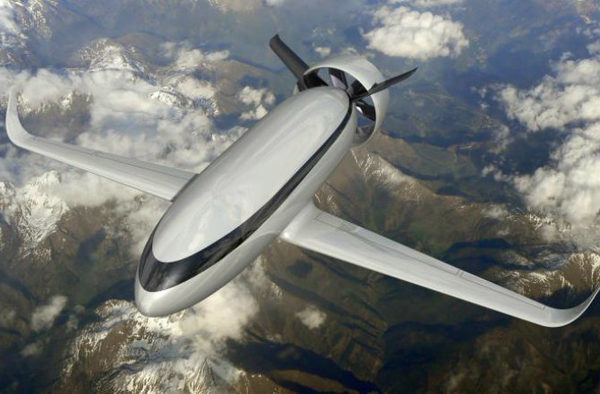 Самолеты пассажирские будущего VOLTAIR