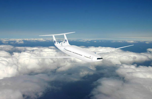 Самолеты будущего фото DOUBLE BUBBLE D8