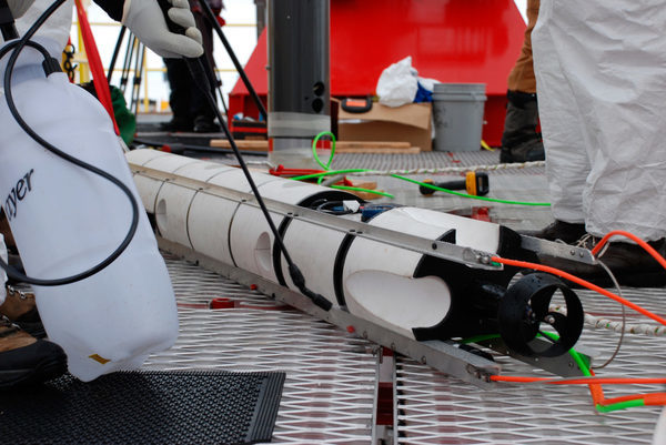 Подводный робот SCINI (первая модель)