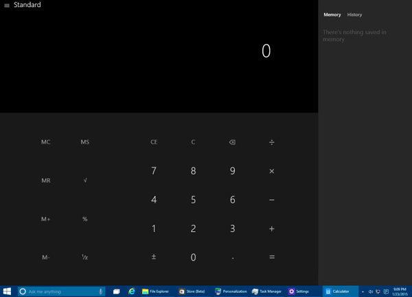 калькулятор-Windows-10