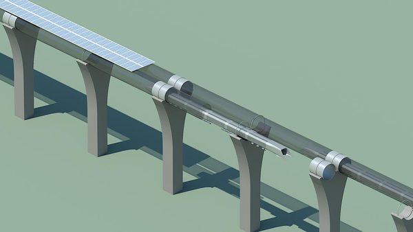 hyperloop сверхбыстрый поезд