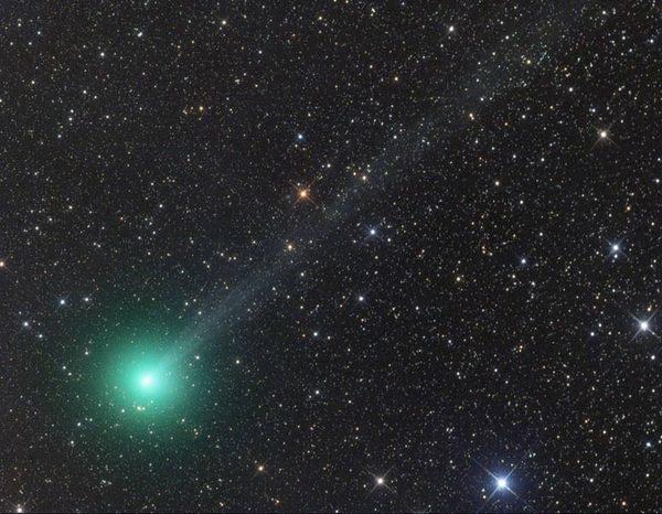 Комета Лавджоя, изображение получено 27 ноября