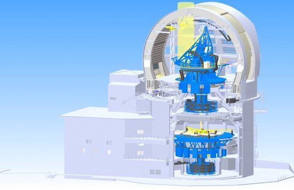 Солнечный телескоп DKIST