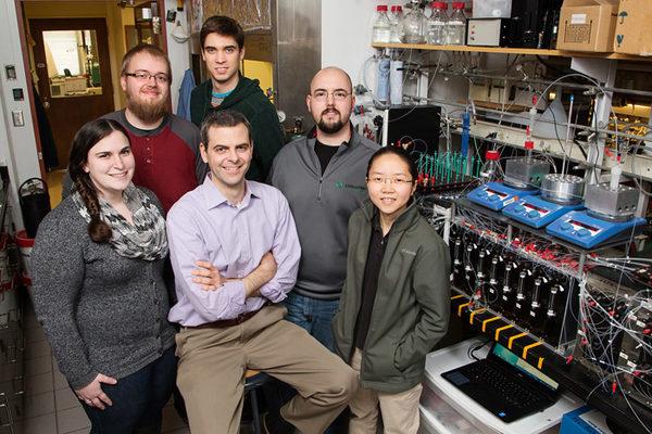 Группа химиков из команды Мартина Берка.