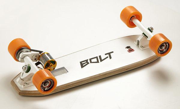 Bolt - самый маленький и легкий электрический скейтборд в мире
