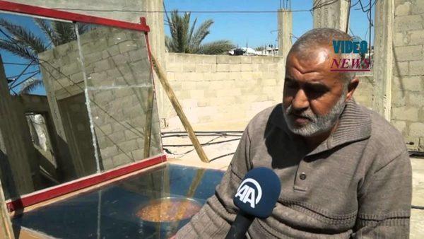 Палестина солнечная печь