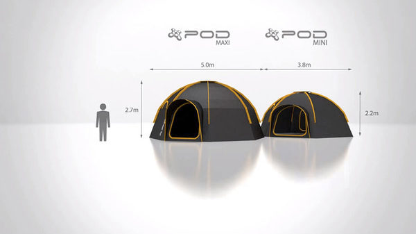 POD-Tent-Size