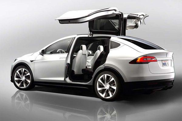 Tesla-Model-X электрический внедорожник
