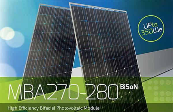 Солнечные батареи BiSoN (2)