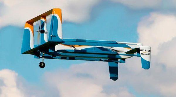 Amazon-беспилотный-дрон