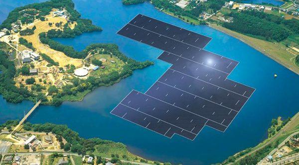 Самый крупный в мире плавучий солнечный завод