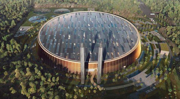 Самый большой завод по переработки отходов в энергию