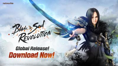 Мировой релиз ожидаемой мобильной RPG Blade & Soul Revolution от Netmarble