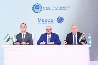 Masdar договаривается об увеличении проектной мощности первого ветропарка в Узбекистане
