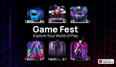 Игровые приложения в топе AppGallery во время международного фестиваля игр Game Fest